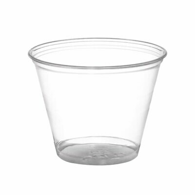 * Sunset 10 Ounces Clear Cups 50 Count