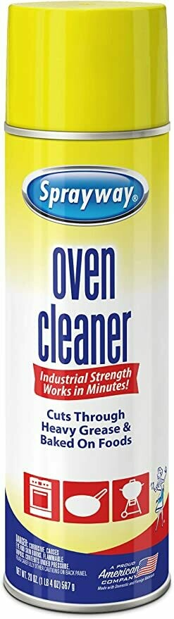 * Sprayway Grill & Oven Cleaner 20 Ounces