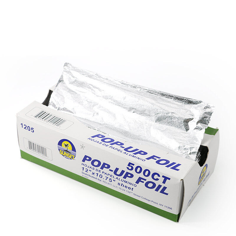 * Sunset 12X10.75 Popup Foil Sheets 500 Count