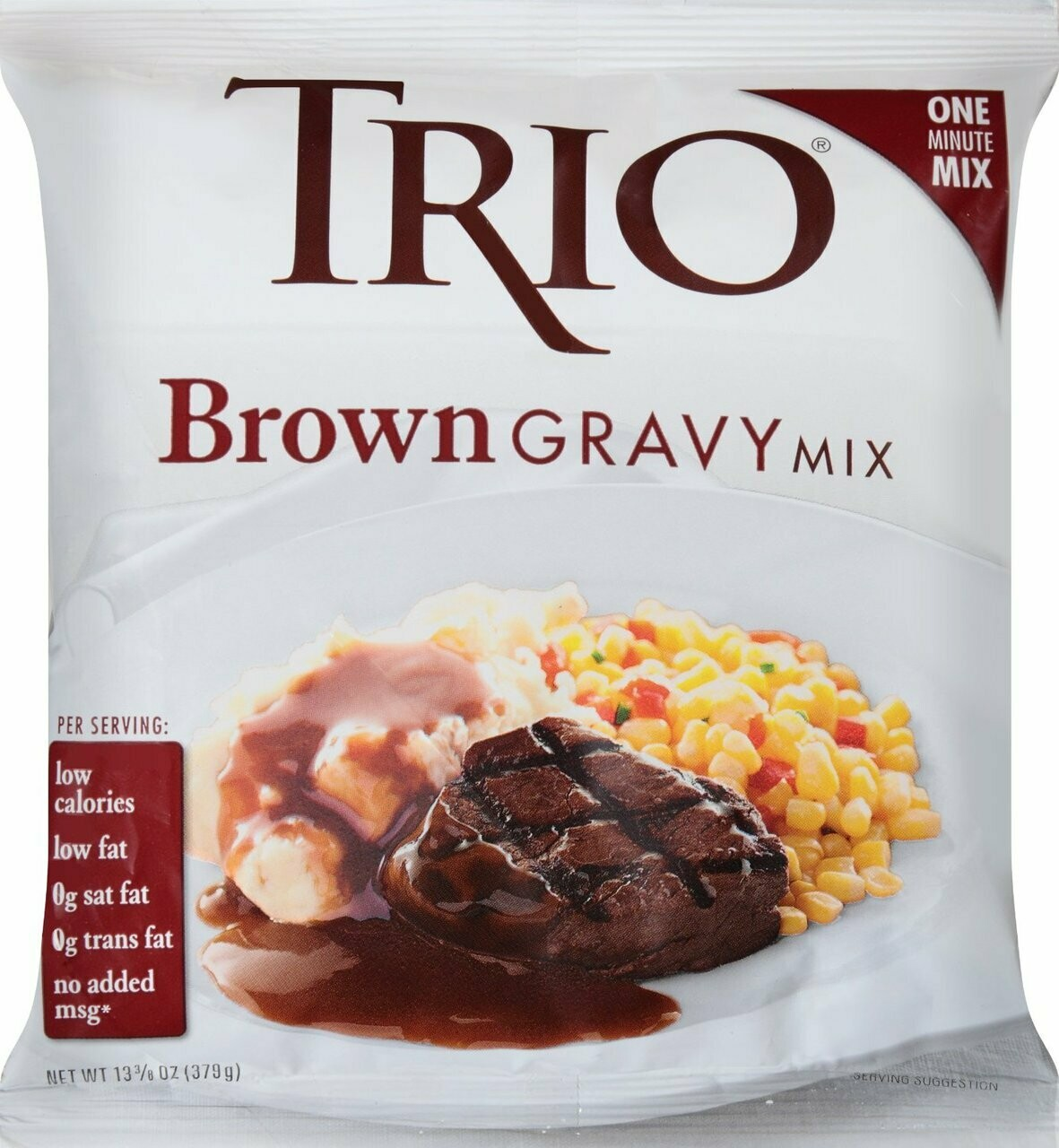 * Trio Brown Gravy Mix 13 Ounces Packet