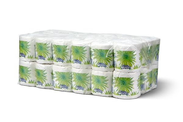 * White Swan Bath Tissue, 2-Ply, 336' 36 Rolls