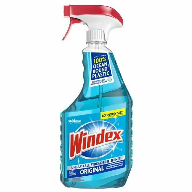 * Windex Original Pro Glass Cleaner Trig 32 Ounces