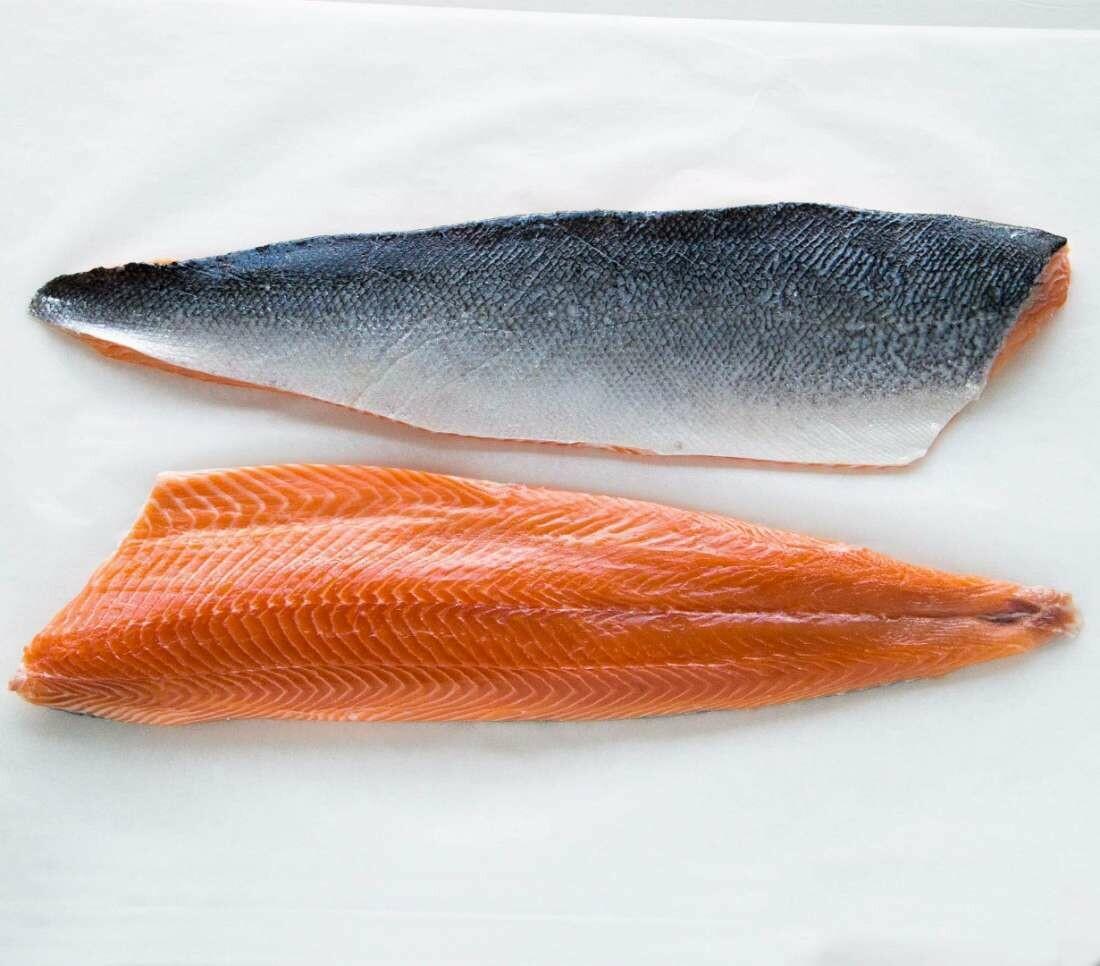 * Smoked Salmon Skin-On Per Pound
