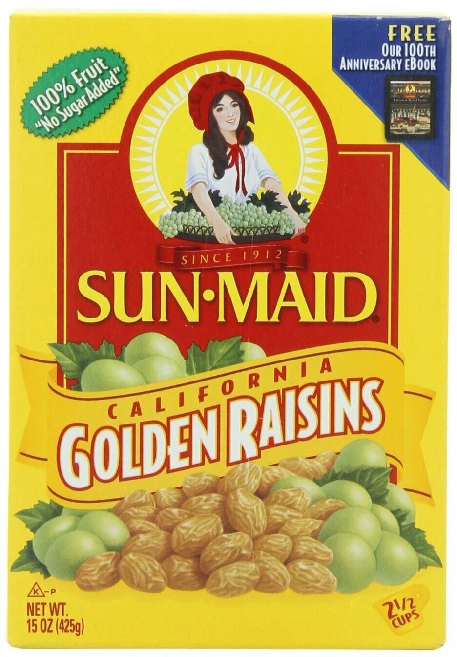 * Sun-Maid Golden Raisins 15 Ounces