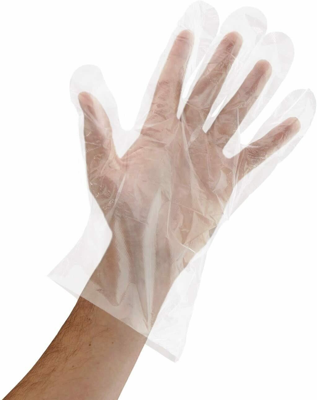 * Sunset Unisize Poly Gloves