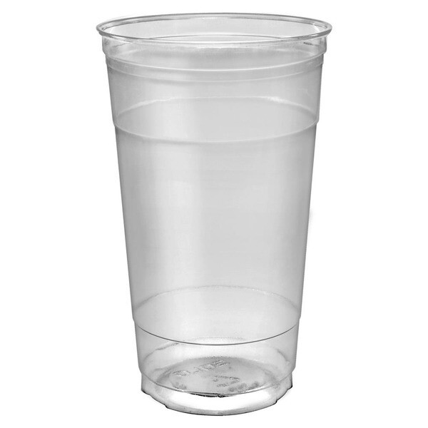 * Sunset 32 Ounces Clear Pet Cup 25 Count
