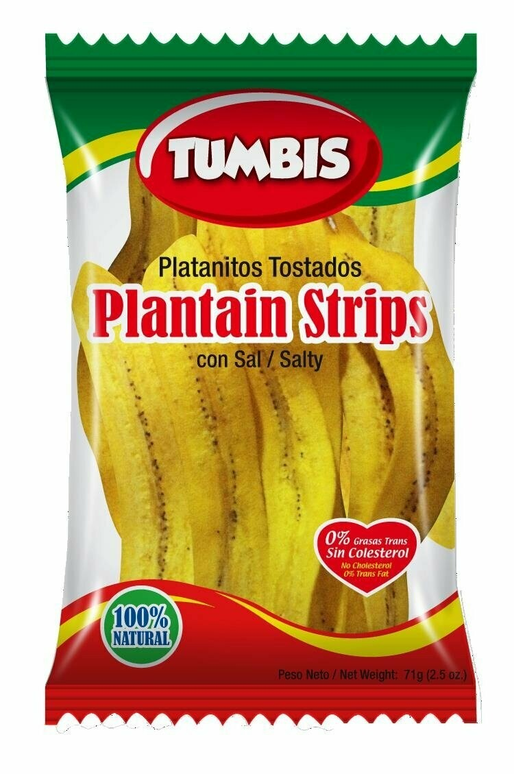 * Tumbis Plantain Strips 12.35 Ounces
