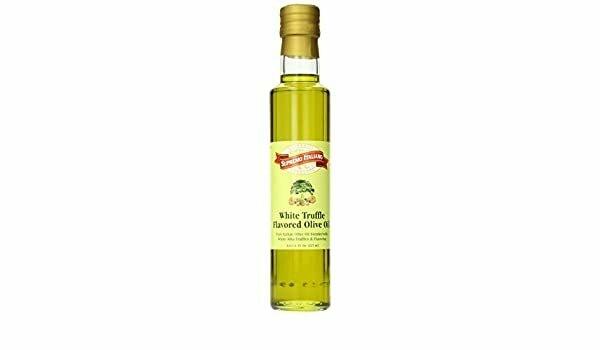 * Supremo Italiano White Truffle Oil 8 Ounces Bottle