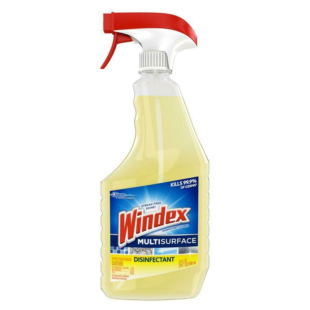 * Windex Multi Surface Disinfectant Cleaner 23 Ounces