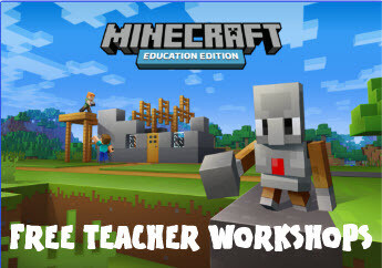 Free Live Online Teacher Workshops - Minecraft: Edu