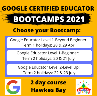 Google Educator Bootcamp