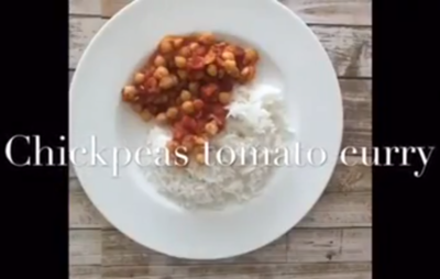 Chickpeas curry