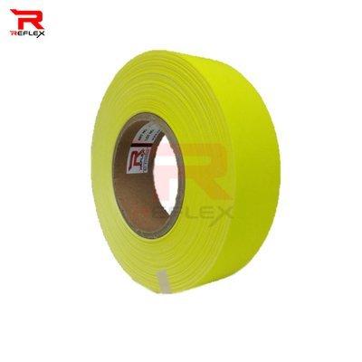 แถบผ้าสะท้อนแสงเนื้อผ้า TC สีเขียว หน้ากว้าง 1.5นิ้ว