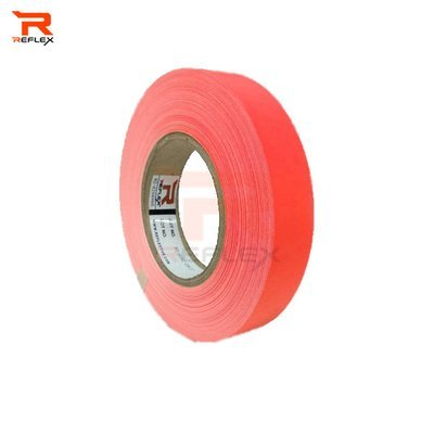 แถบผ้าสะท้อนแสงเนื้อผ้า TC สีส้ม หน้ากว้าง 1นิ้ว