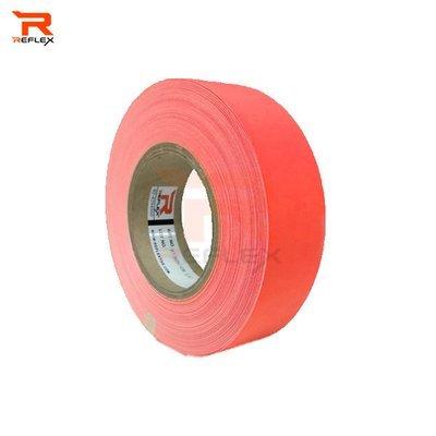 แถบผ้าสะท้อนแสงเนื้อผ้า TC สีส้ม หน้ากว้าง 1.5นิ้ว
