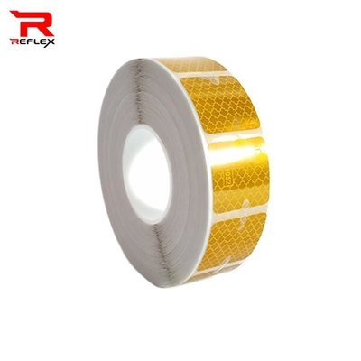 สติ๊กเกอร์ไดมอนเกรด สำหรับติดผ้าใบ ดีเอ็ม สีเหลือง