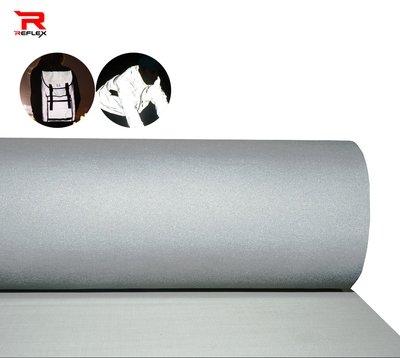 แถบผ้าสะท้อนแสงสีเงินคุณภาพสูง หน้ากว้าง 40นิ้ว 1เมตร