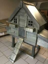 Kippenhok  Bavaria 10 metalen dak en metalen schuif
