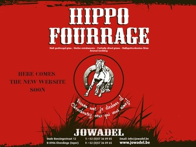 Voordroog- hooi Hippo Fourrage