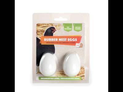 rubberen nest-ei