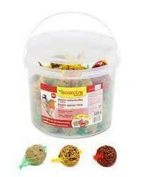 mix mezenbollen 12x kleurrijk