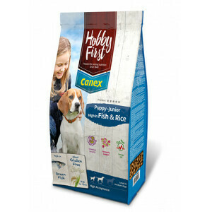 Canex puppy-junior high in Fish and Rice  3 kg