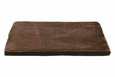 JV Waterproof orthopedische matras bruin-XS 44x29x4cm