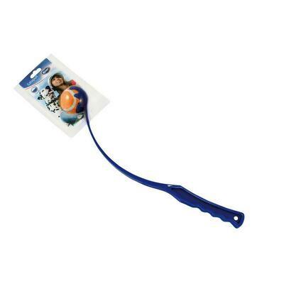 Duvo Katapult met bal 45cm Oranje/blauw