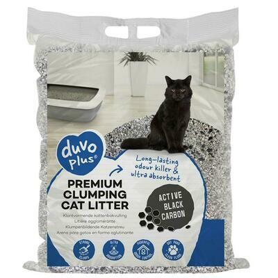 Duvo kattenbakvulling premium active black carbon