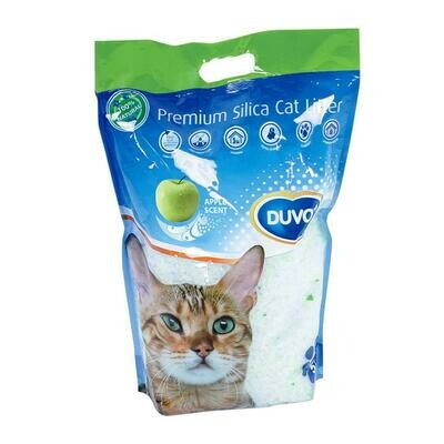 Duvo Premium silica kattenbakvulling appel