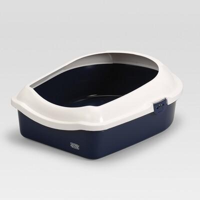 Duvo Cat toilet Navy 56x70x27cm