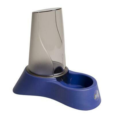 Voedsel & waterdispenser Nuvola 23x34x34cm/3,5l Night blue
