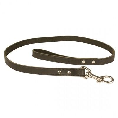 Duvo Classy leder zwart 100cm/18mm