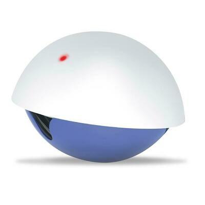 Laser'n' snack toy 19x19x15cm wit/blauw