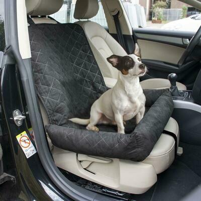 Beschermdeken voor de autostoel 99x58x12cm zwart