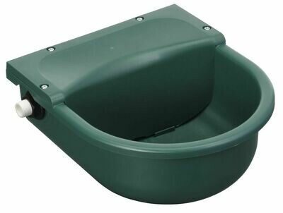 Vlotter drinkbak groen-kunststof 3L