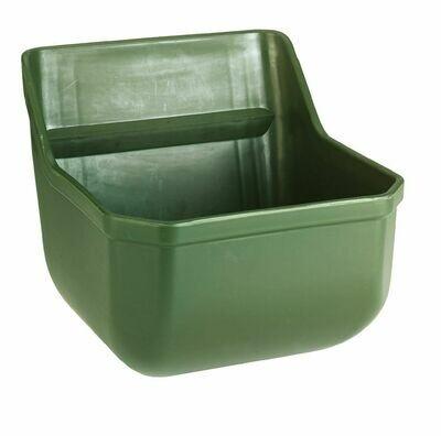 Krachtvoertrog-veulentrog Z. metalen staven- groen
