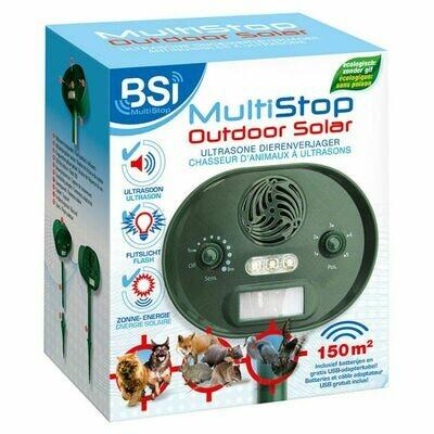 Multistop outdoor+ ultrasone dierenverjager