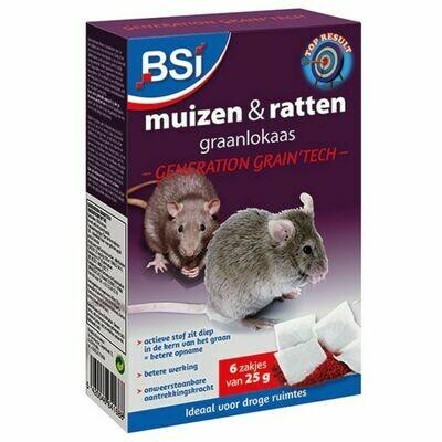 Graanlokaas muizen & rattenbestrijding