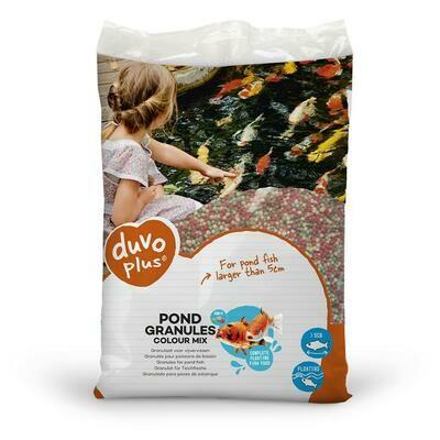 Granulaat voor vijvervissen