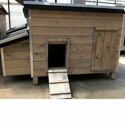 Valdeur voor kippenhokken Wood - Los DEURTJE