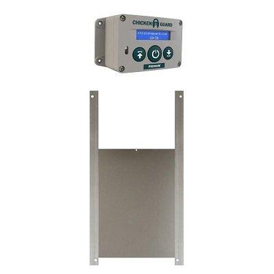 Chickenguard  Premium batterij SET MET SCHUIF 25 x 30 cm