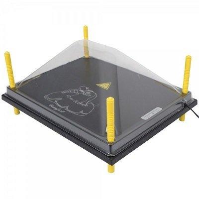 afdekkap warmteplaat XL - 40 cm x 50 cm