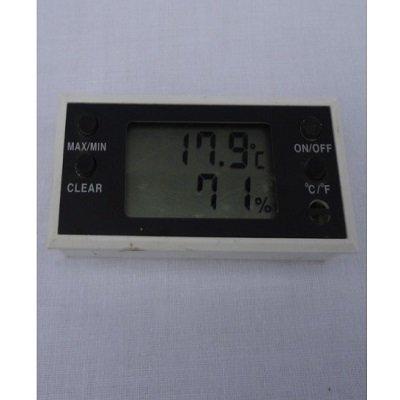 Digitale temperatuur en vochtmeter