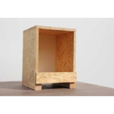 houten legnest  OSB enkel