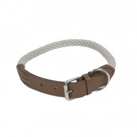 HALSBAND FOREST M-L - 65cm taupe
