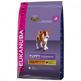 EUK PUPPY&JUNIOR MEDIUM BREED 3KG
