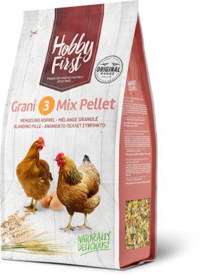 Grani 3 mix pellet ,  graanmengeling met korrel 4 kg