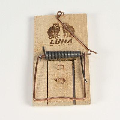 Houten rattenval Luna