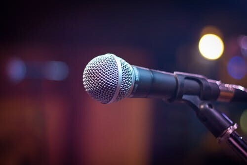 Open Mic non-members rate, 16th March 2021